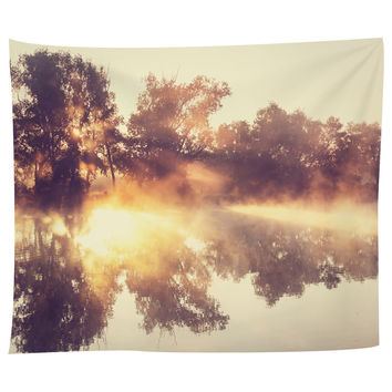 River Fog Tapestry