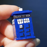 Doctor Who TARDIS Miniature Cookie Jar with Jammie Dodgers