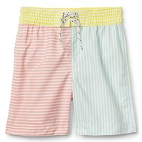 "4"" Colorblock Wave Swim Trunks