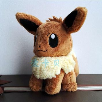 New Authentic Japan anime game Eevee 25cm Plush Doll Toy Gift