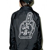 Rebel8 Go Fuck Yourself Coaches Jacket | Dolls Kill