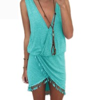 Surfer Style Beach Cover Up