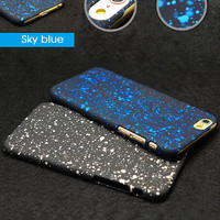 Luxury Ultrathin 0.3mm Cosmic Galaxy Stars Slim Fashion Protective Case For iPhone