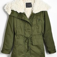 Western Fur Collar Loose Thickening Overcoat,Cheap in Wendybox.com
