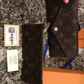 Brand New Authentic Louis Vuitton Josephine Wallet Baby Pink