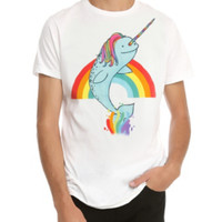 Rainbow Narwhal T-Shirt