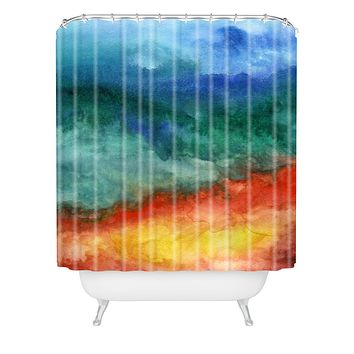 Jacqueline Maldonado Leaving California Shower Curtain