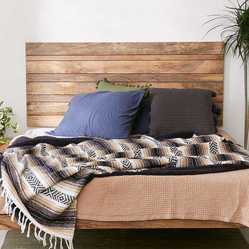 Slatted Wooden Headboard | Urban Outfitters