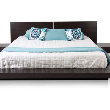 Brown Persa Platform Bed Brown Perspective Platform Bed - NYC - Los Angeles, Miami, FL [] - $840.00 :