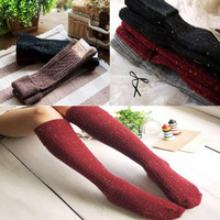 Winter Wool Blended Long Warm Socks