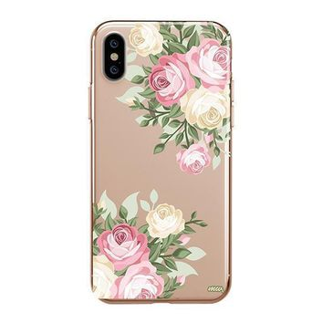 Vintage Roses - iPhone Clear Case