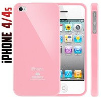 iPhone 4S Case, Caseology® [Daybreak Series] Slim Fit Shock Absorbent Cover [Pink] [Slip Resistant] for Apple iPhone 4S - Pink
