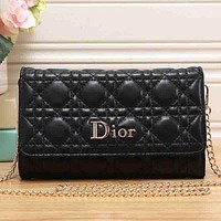 Dior Women Fashion Leather Satchel Shoulder Bag Crossbody