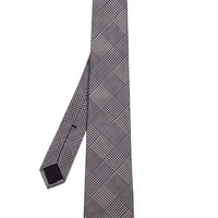 Hound's-tooth check-jacquard silk tie | Gucci | MATCHESFASHION.COM US