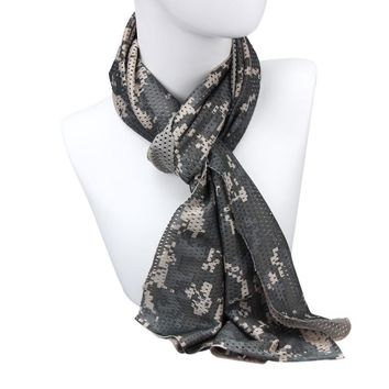Outdoor Cycling Multipurpose Camouflage Scarf ManggeonNeckerchief