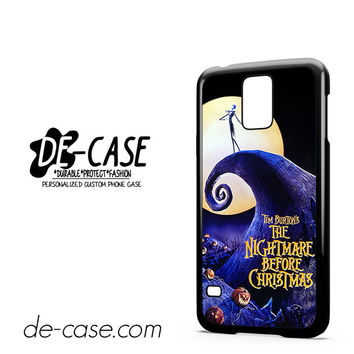 The Nightmare Before Christmas Poster For Samsung Galaxy S5 Case Phone Case Gift Present YO