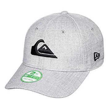 Quiksilver Boys Mountain & Wave Colors Flexfit Hat One Size Athletic Heather