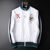 New air force one man windcheater fashion embroidered coat blazer