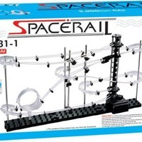 Little Treasures Space Rail Level 1 Marble Roller Coaster Kit with Steel Balls 5000mm, Warp, Model # 231-1 Great Educational Toy for Boys and Girls