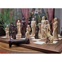 Park Avenue Collection Gods Of Greek Mythology Chess Set