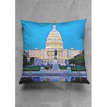 Washington D.C. Pillow