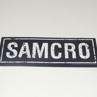 Sticker Sons Of Anarchy Samcro