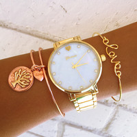 Rosey Gold Stack