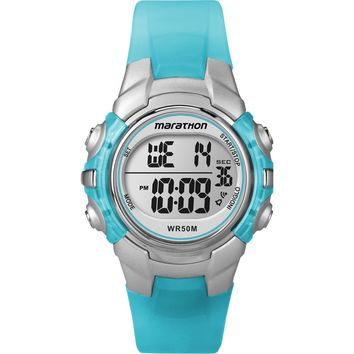 Timex Marathon Digital Mid-Size Watch - Light Blue [T5K817]