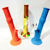"Silicone Water Pipe (14"")"