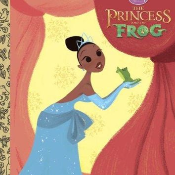 The Princess and the Frog Little Golden Books