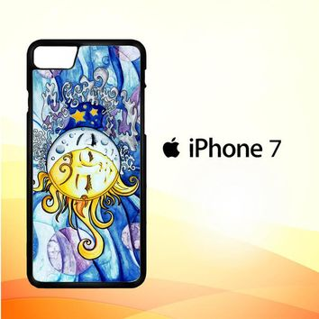 SUN AND MOON Z1074 iPhone 7 Case