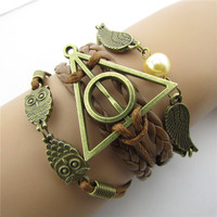 Harry Potter Dove Owl Fashion Bracelets