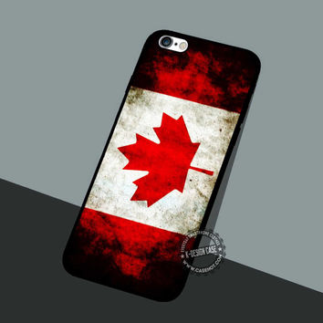 Canada Flag Bead - iPhone 7 6 5 SE Cases & Covers