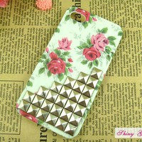 Studded IPhone 4 Case, Silver Pyram.. on Luulla