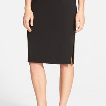 Women's Eileen Fisher Side Slit Pencil Skirt,