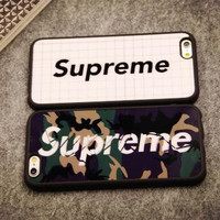 Supreme couple mobile phone case for iphone 5 5s SE 6 6s 6plus 6s plus + Nice gift box