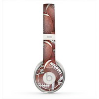 The Football Overlay Skin for the Beats by Dre Solo 2 Headphones