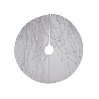 "Monika Strigel ""Frozen"" White Tree Skirt"