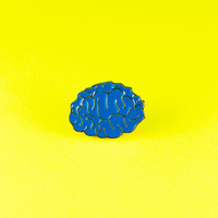 Blue Brain Pin