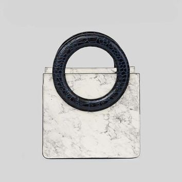 Opening Ceremony Mini Lynx Marble Leather Crossbody - WOMEN - Bags & Wallets - Opening Ceremony