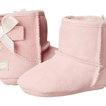 UGG Kids Jesse Bow (Infant/Toddler) Baby Pink (Suede) - Zappos.com Free Shipping BOTH Ways