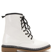 Black Poppy Raymonae Lace Up Boots at PacSun.com