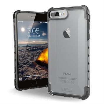 UAG iPhone 8 Plus / iPhone 7 Plus / iPhone 6s Plus [5.5-inch screen] Plyo Feather-Light Rugged [ICE] Military Drop Tested iPhone Case