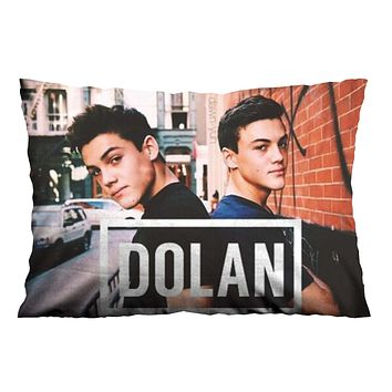 DOLAN TWINS IN CITY Pillow Case Cover