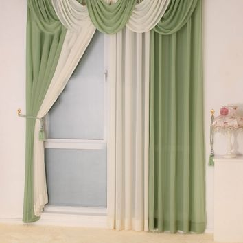 modern curtains for living room kitchen valance tulle sheer curtain modern curtains for living room custom  100 colors available