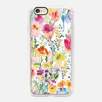 Floral Watercolor Flowers2 iPhone 7 Case by Pineapple Bay Studio | Casetify (iPhone 6s 6 Plus SE 5s 5c & more)