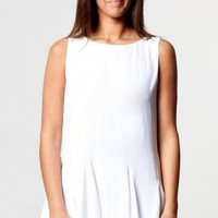 San Jose dress in white  | Show Pony Fashion online shopping