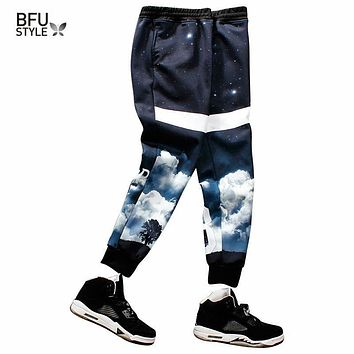Rock  Brand Thicken Large Size Men Pants Slim Fit Fitness Pants Casual 3D Mens Joggers Sweatpants Men's Trousers Dropship