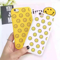 Lovely smiling face phone case for iPhone 6 6S 6plus 6Splus 1008J01