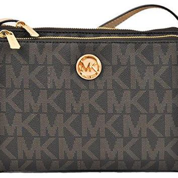 Michael Kors Fulton Crossbody Bag Brown (35T6GFTC7B)